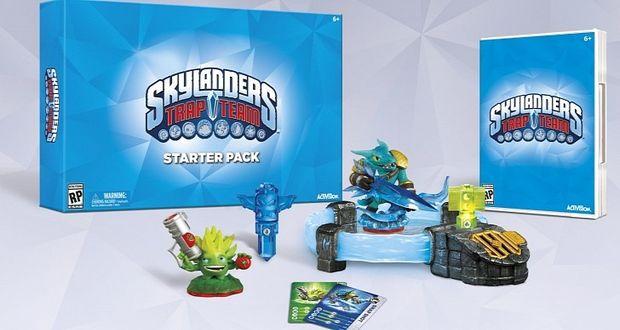 Skylanders-Trap-Team-סקיילנדרס חדש