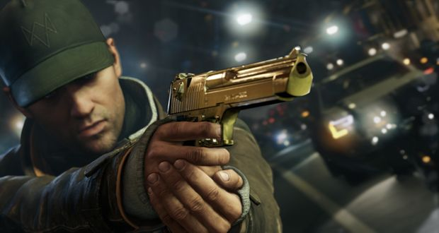 GoldGun-WATCH DOGS
