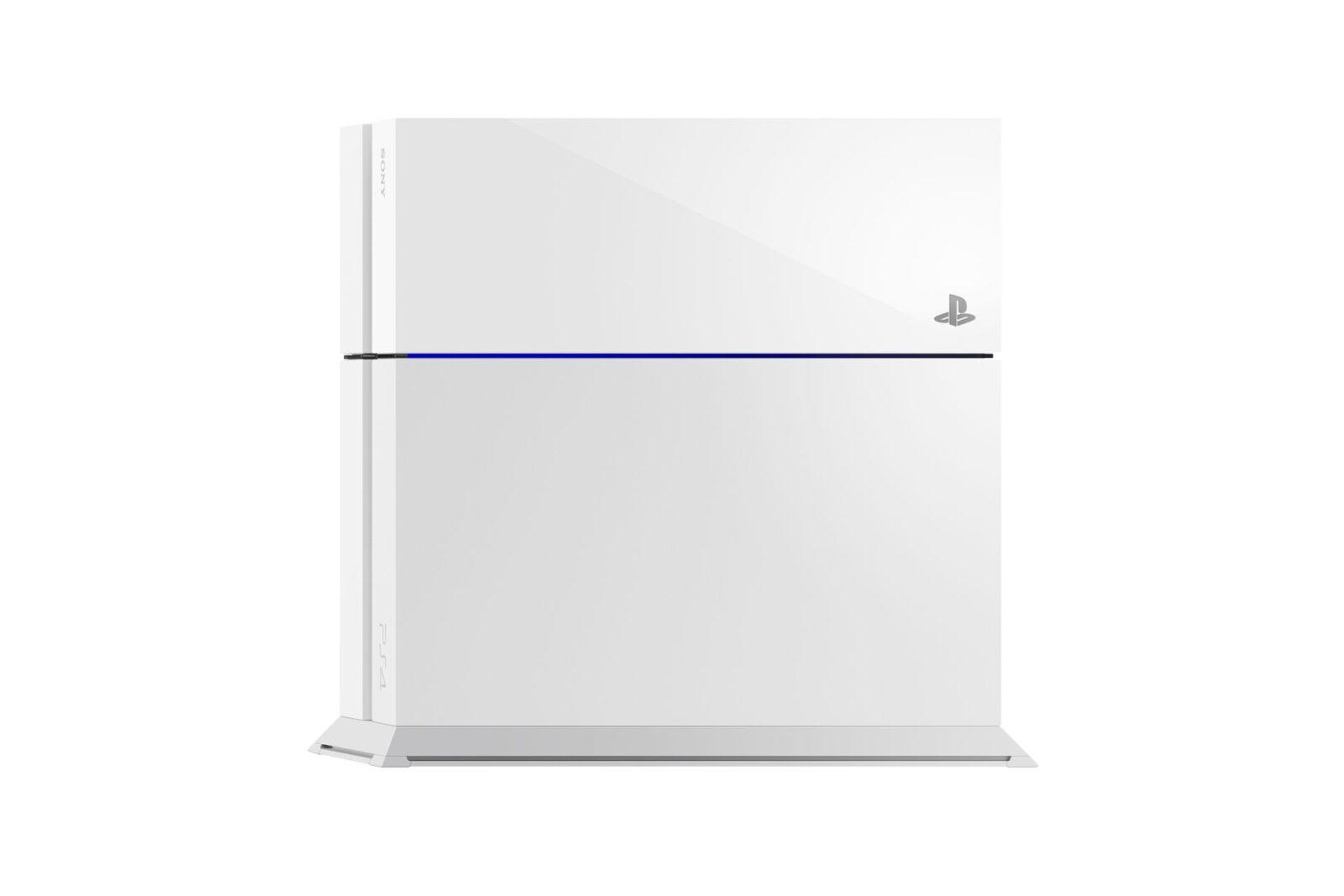 לבן white PS4