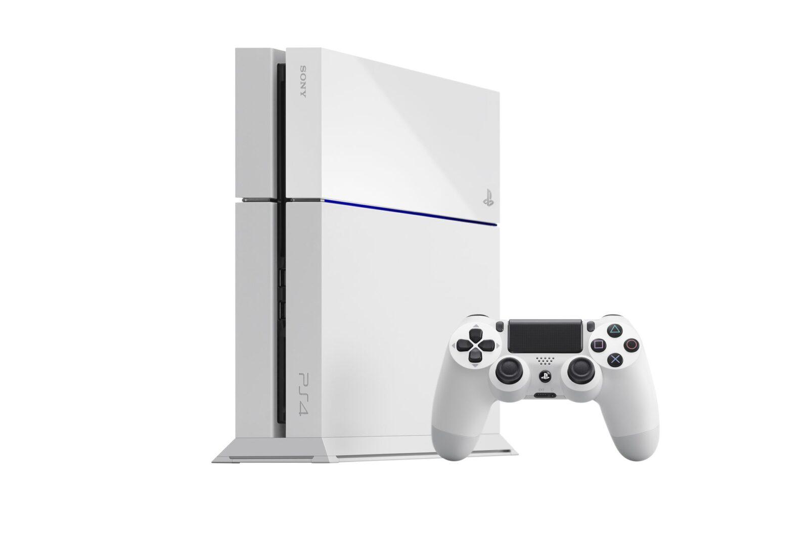 לבנה PS4