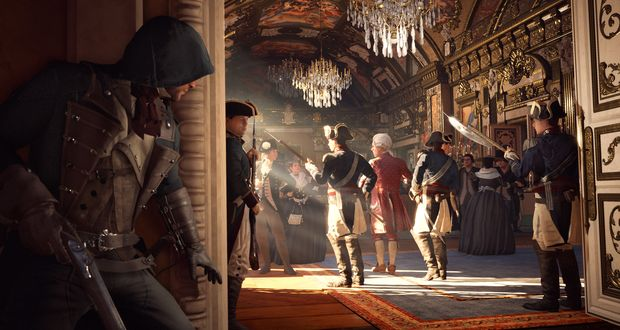 Assassin's Creed Unity 'modern day'
