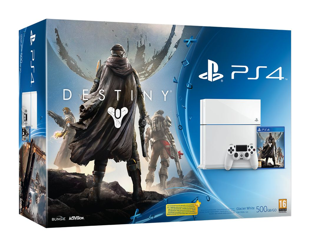 Destiny bundle includes white PS4