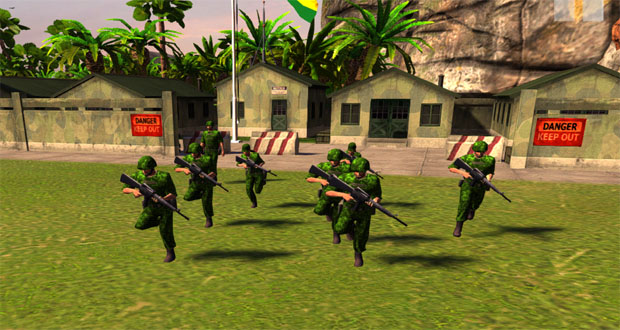 TROPICO ARMY