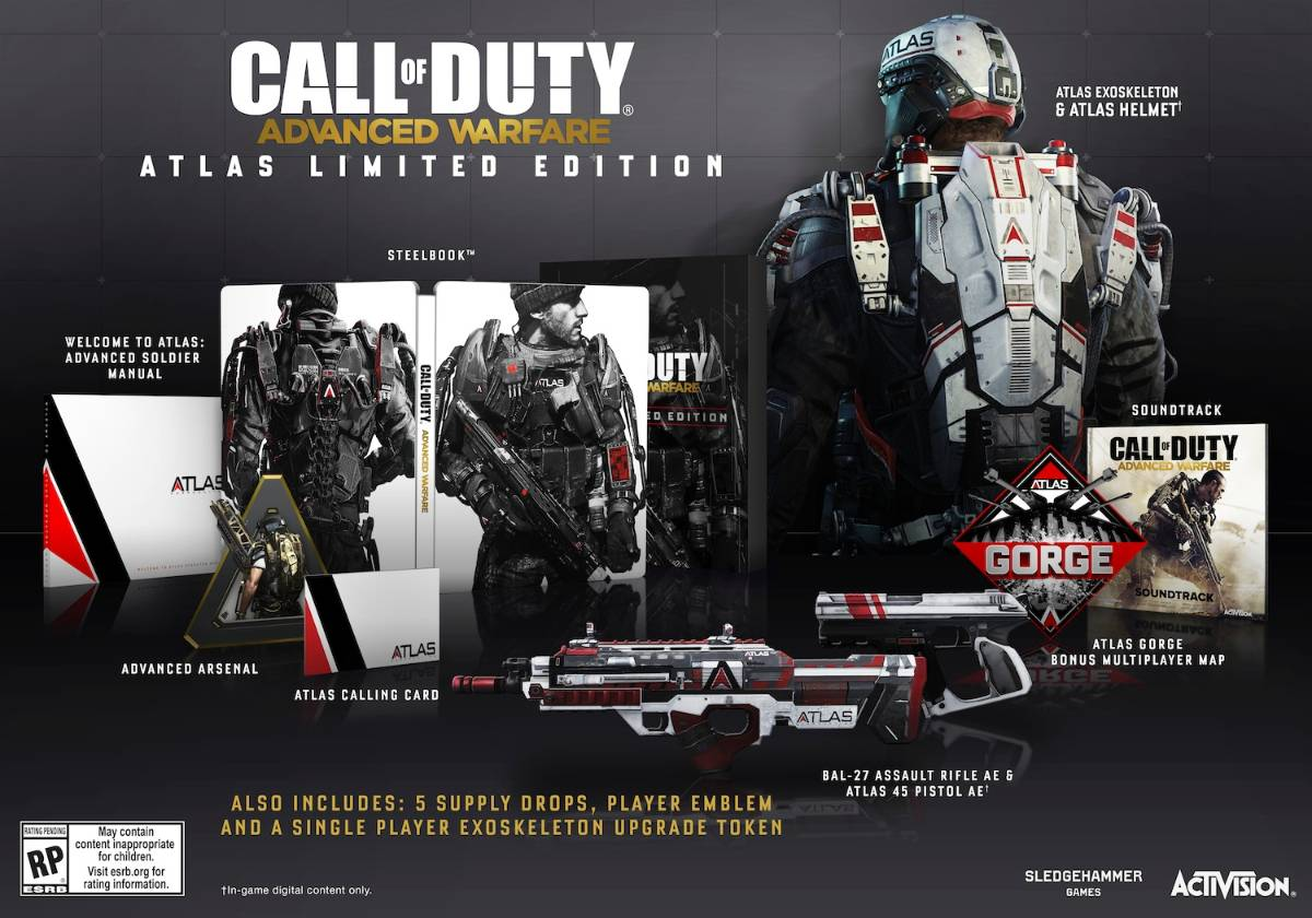 Atlas Limited Edition COD AW