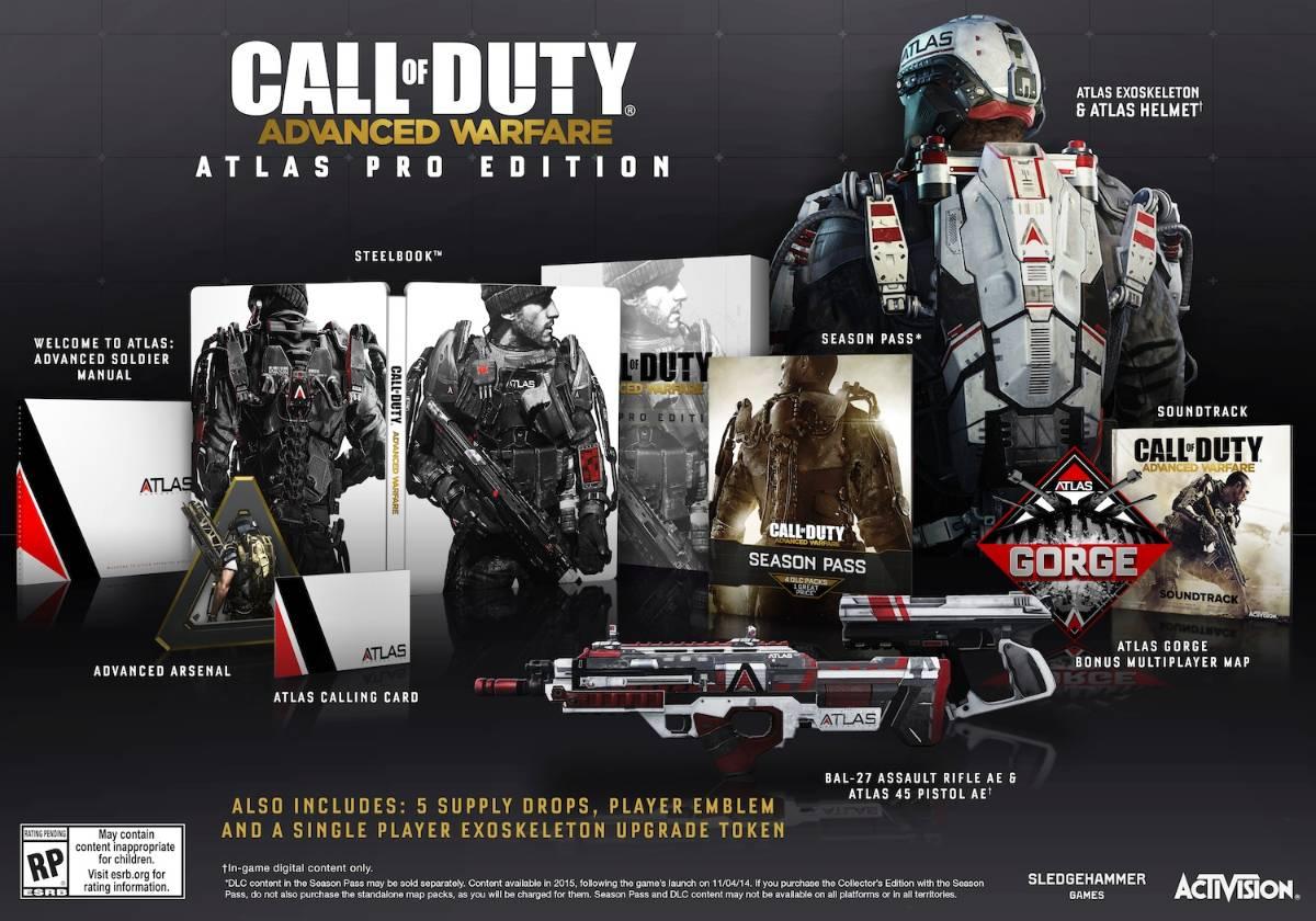 Atlas Pro Edition COD AW