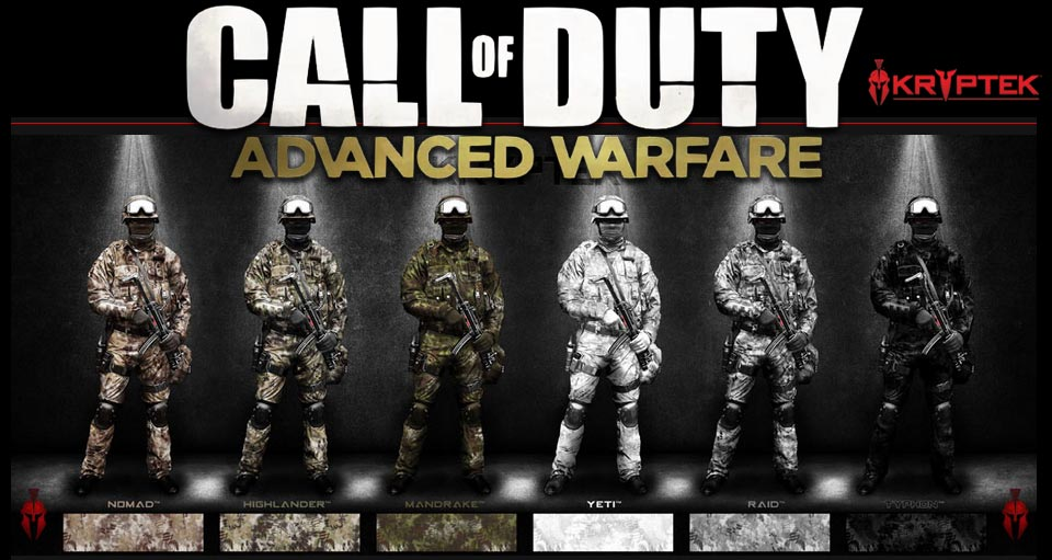 Call-of-Duty-Advanced-Warfare-to-Feature-Kryptek-Weapon-Camos