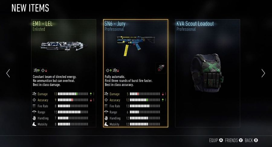 Call of Duty AW - Supply Drops