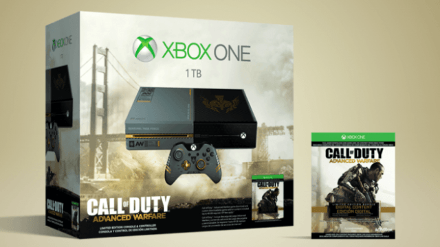Call of Duty Advanced Warfare Xbox One Limited Edition Bundle