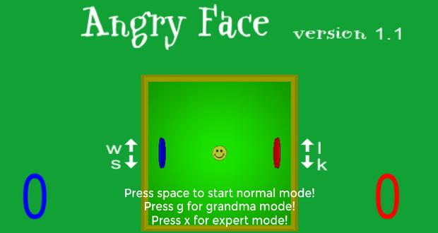 angryface game