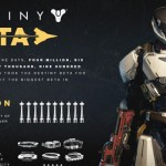 המספרים המרשימים מהבטא של Destiny
