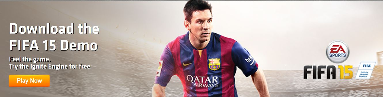 FIFA 15 DEMO DOWNLOAD