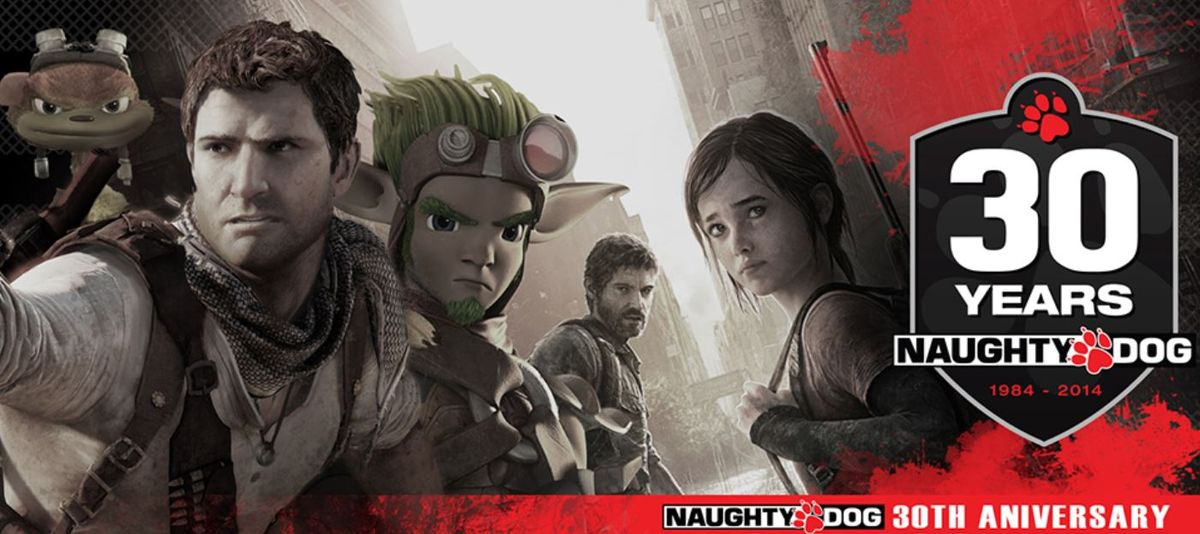 Naughty Dog_30th Anniversary