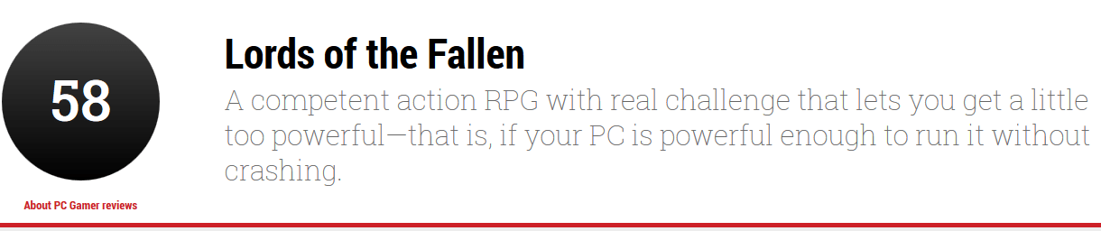 Lords of the Fallen review PC