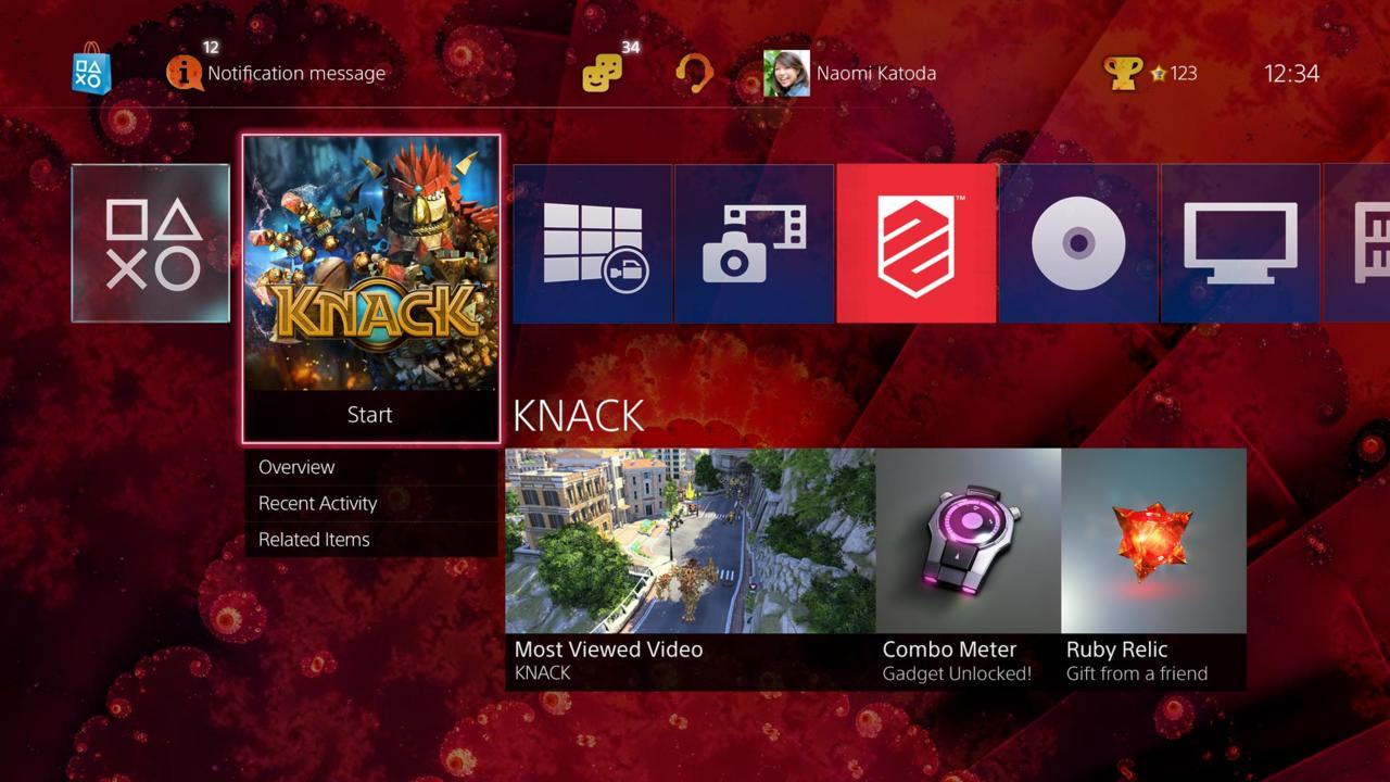 PS4  2.0 Update