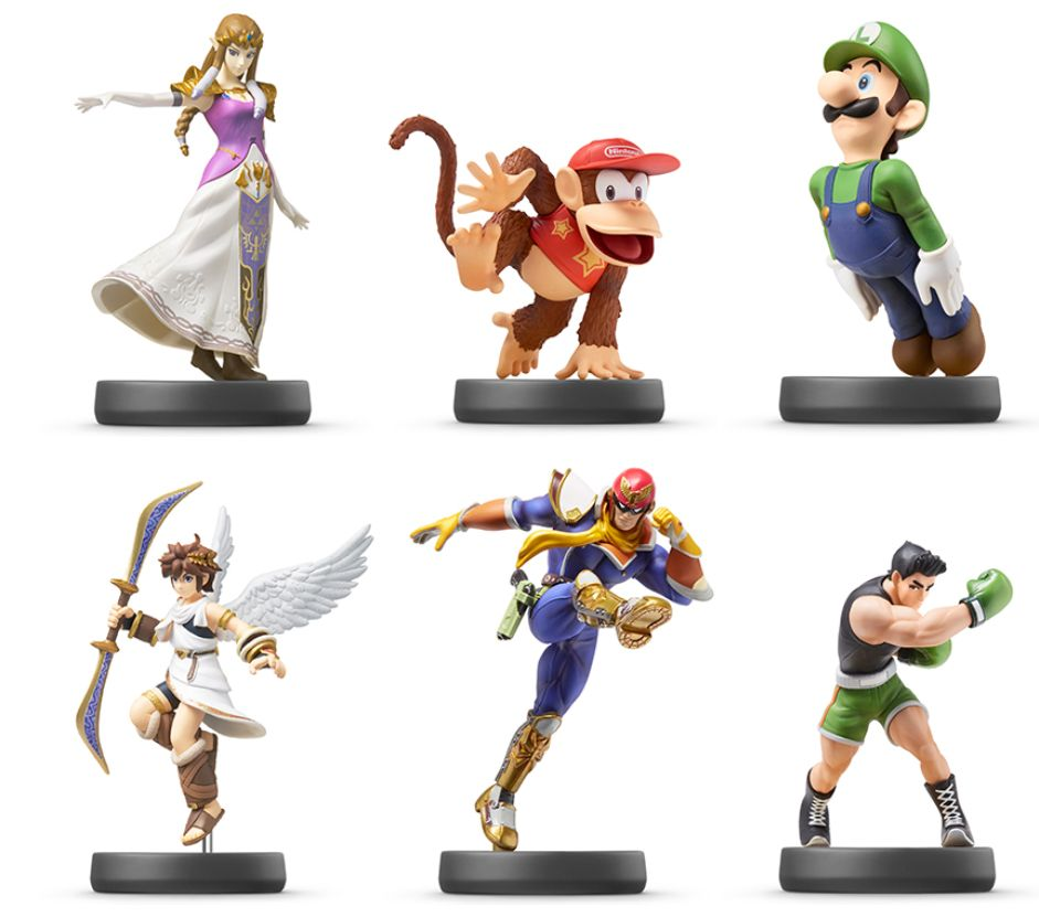 Six New amiibo Figures