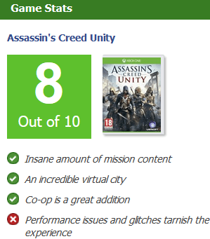 Assassin's Creed Unity review video game