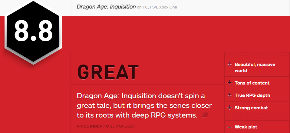 DRAGON AGE INQUSITION IGN