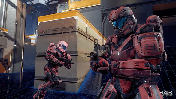 Halo 5 Guardians Multiplayer Screenshots