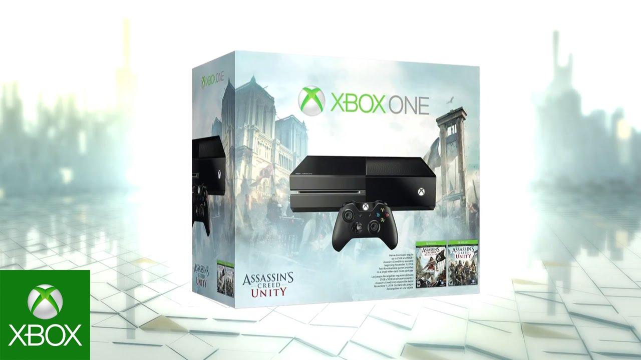 מיקרוסופט מציעה באנדל Xbox One עם AC Unity