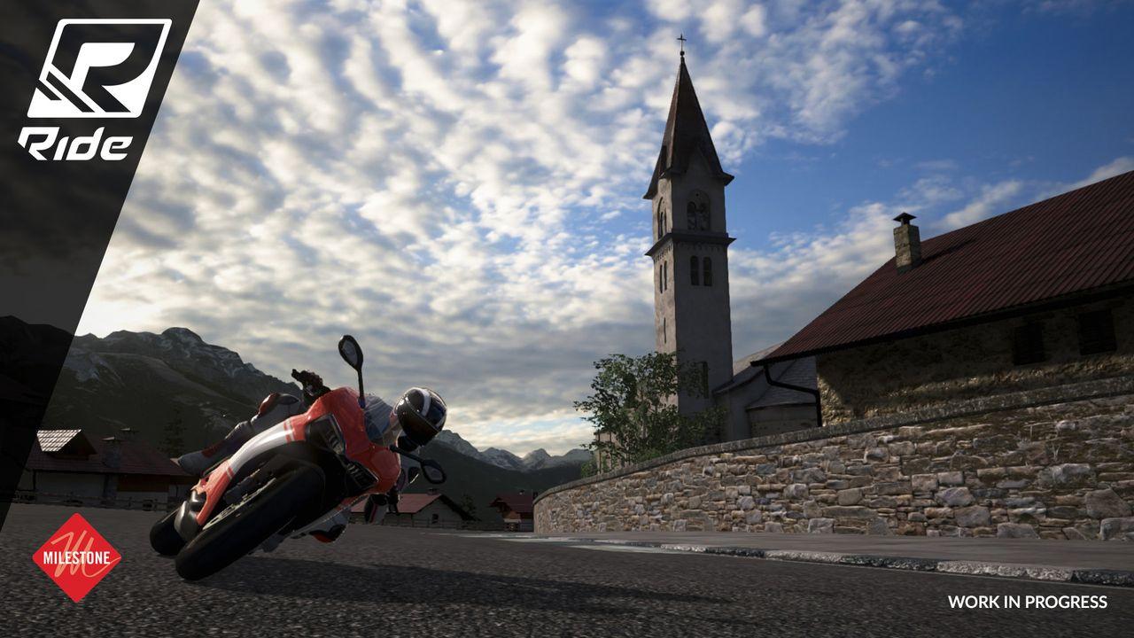 משחק מירוצים אופנועים לסוני 4