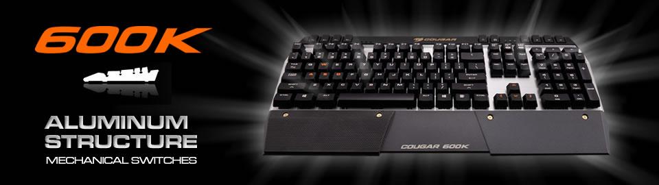 COUGAR-600K gaming