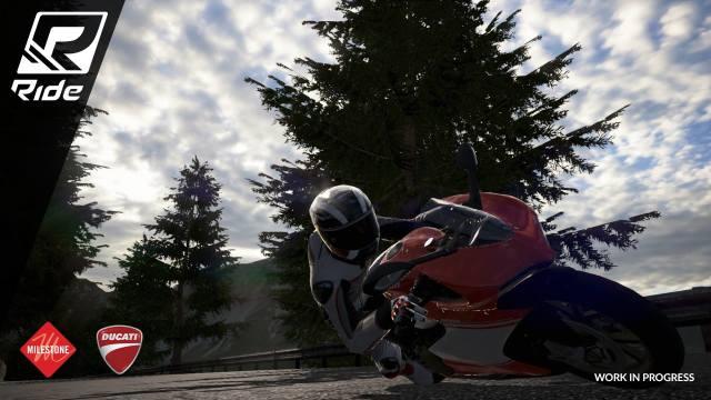 RIDE-אופנועים משחק