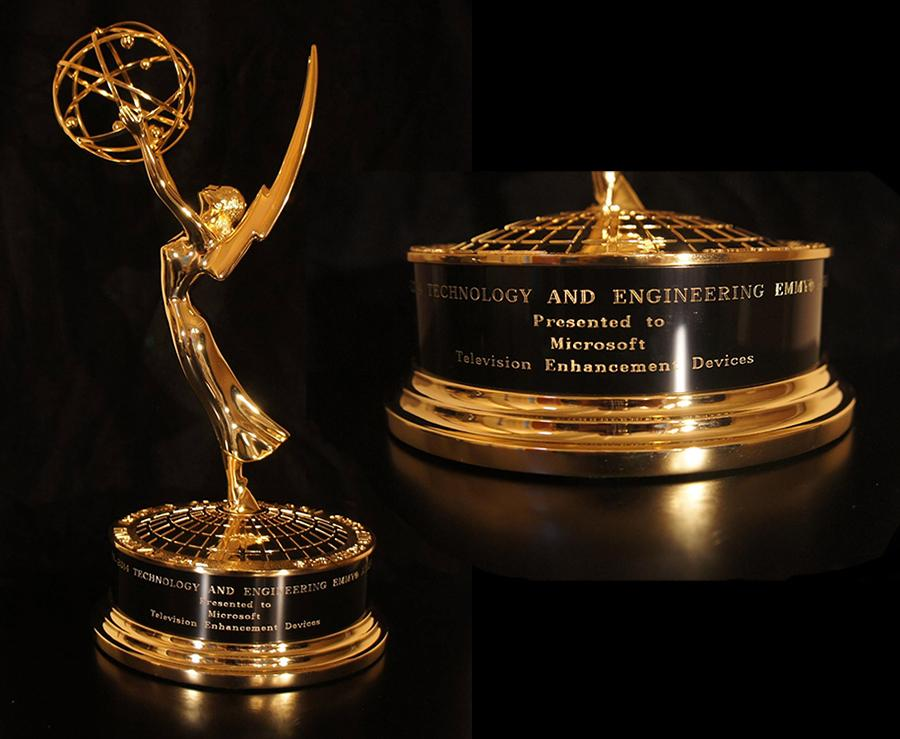 Microsoft Bags Emmy Award For TV Enhancement Device