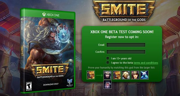 Smite for Xbox One beta sign-ups opened