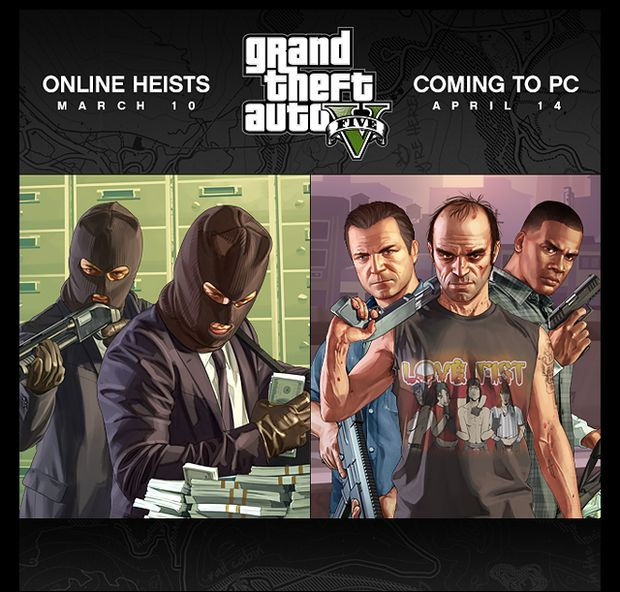 GTA V for PC release date