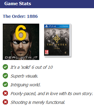 The Order 1886 VG Review