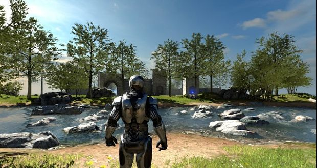 The Talos Principle robocop