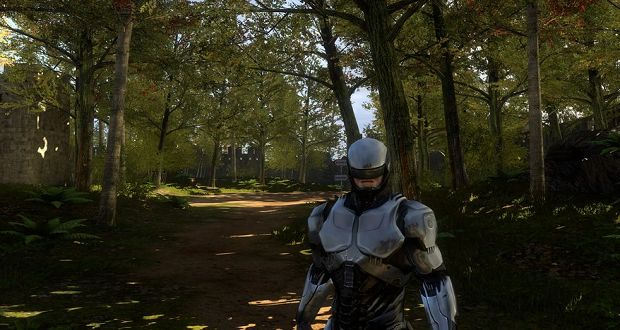 The Talos Principle robocop mod