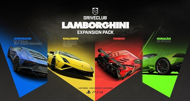 Driveclub - A new pack with four new lamborghini - Gamepro