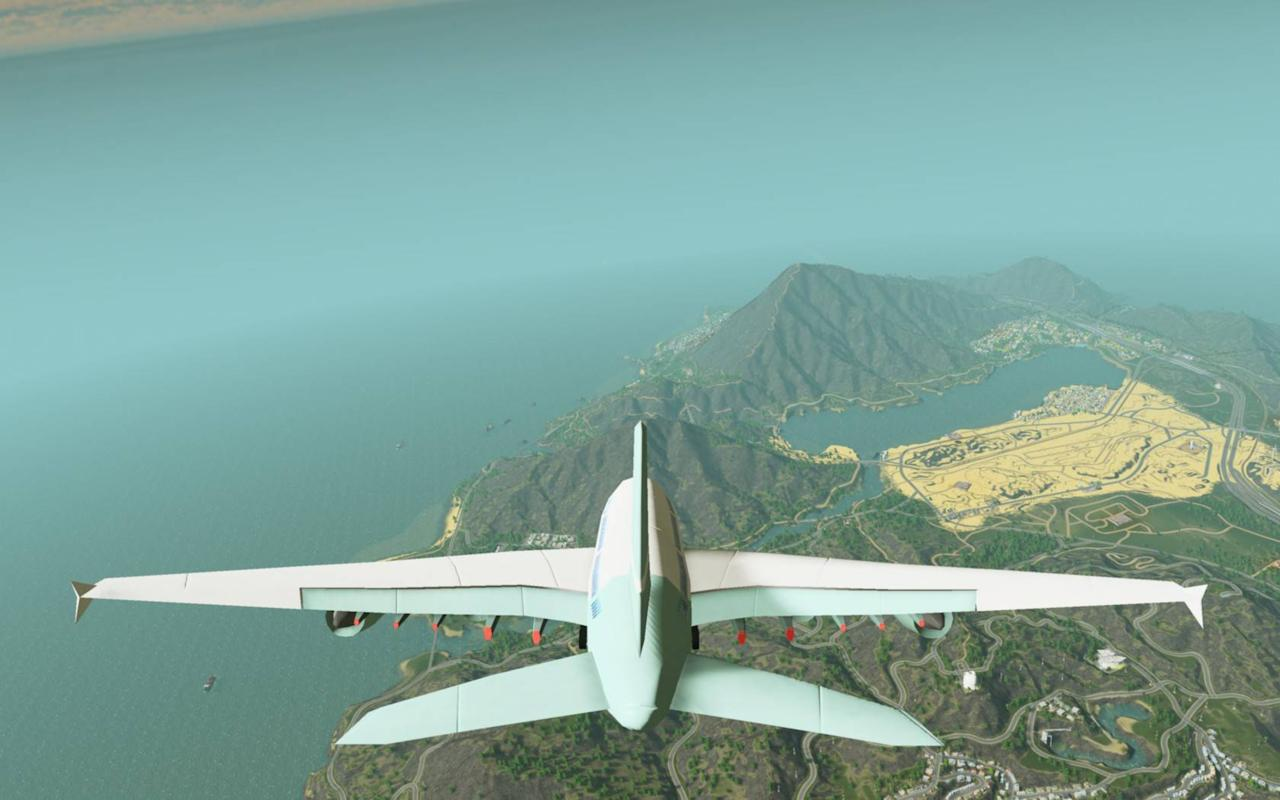 Flight Cimulator Cities Skylines