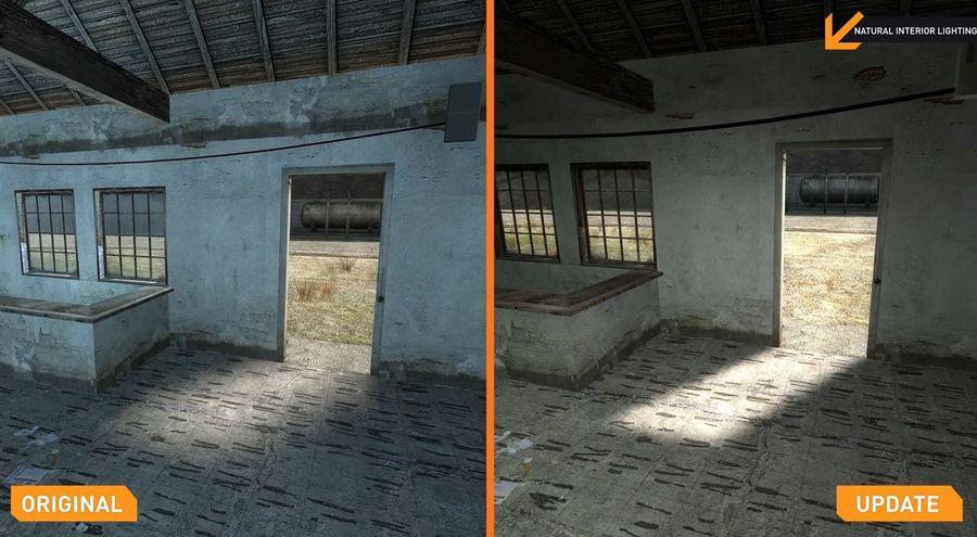 Half-Life 2 Update Comparison