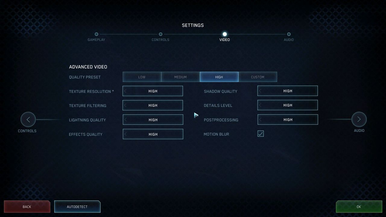 Halo Online PC graphic settings