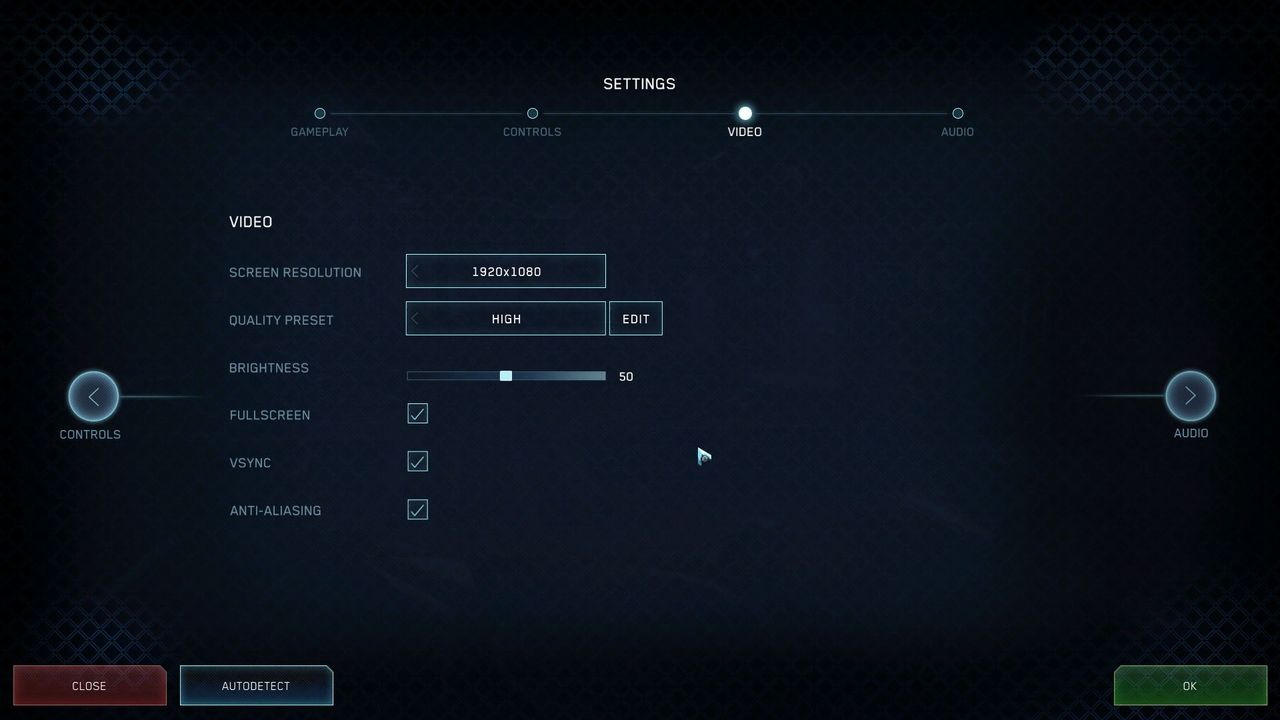 Halo Online PC settings