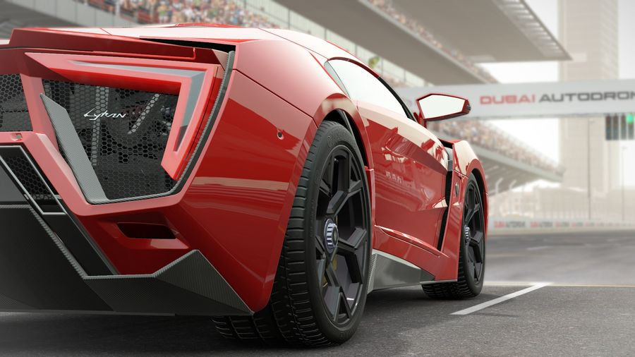 Project Cars no1car  is the Lykan Hypersport