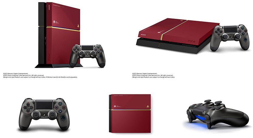 Special limited Metal Gear Solid V PlayStation 4 Announced