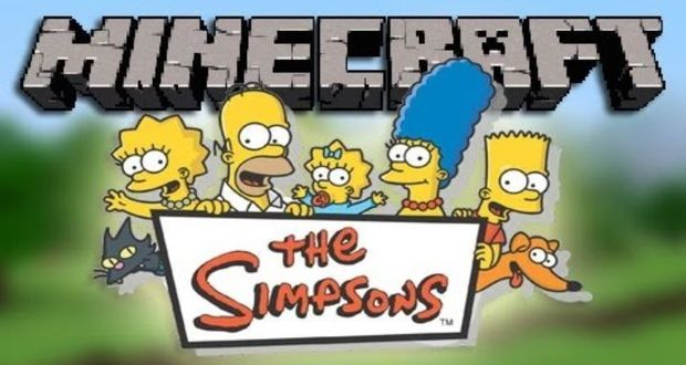 The Simpsons Skin Pack Minecraft