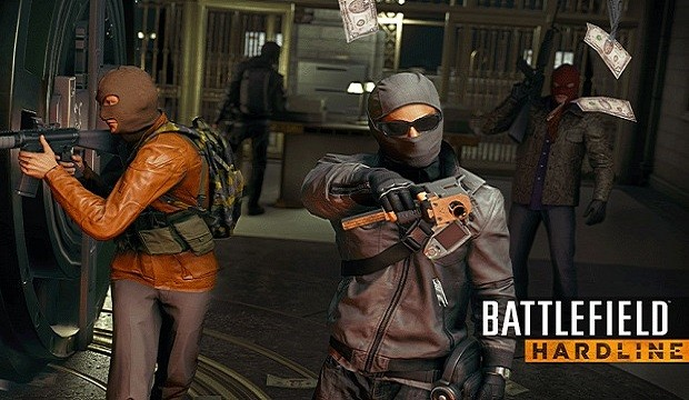 Battlefield Hardline robbers - Failed! Gamepro