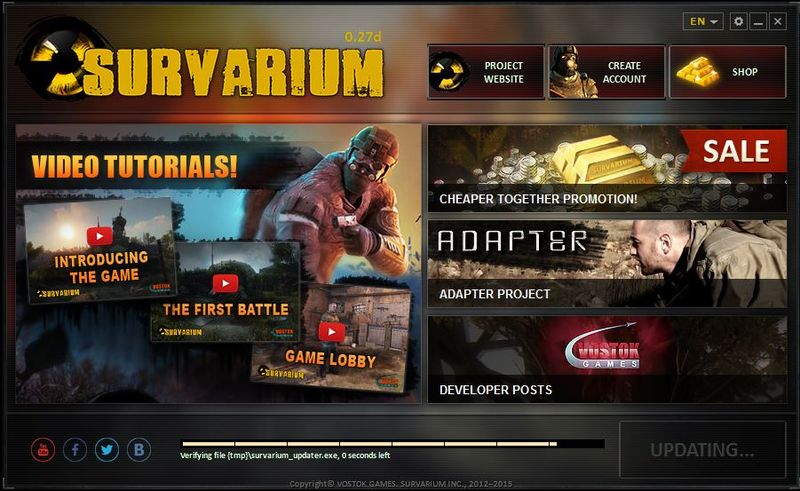 Survarium Updated