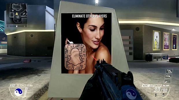 viral marketing for the Next Call of Duty