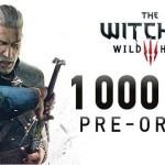 The Witcher 3 מכר למעלה ממיליון עותקים בהזמנה מוקדמת
