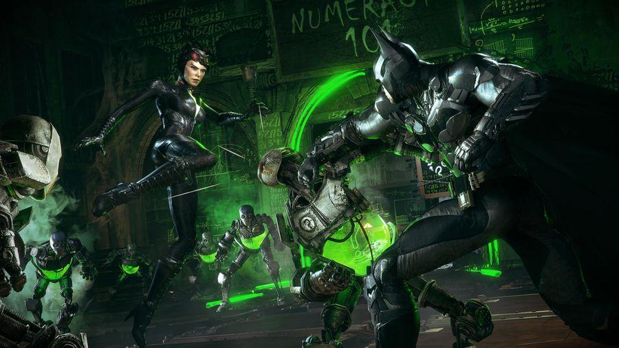 Batman Arkham Knight Dual Play mode gameplay
