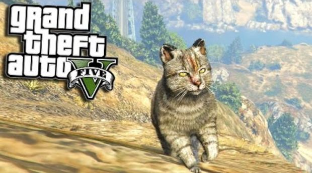 GTA V PLAY AS KITTY CAT