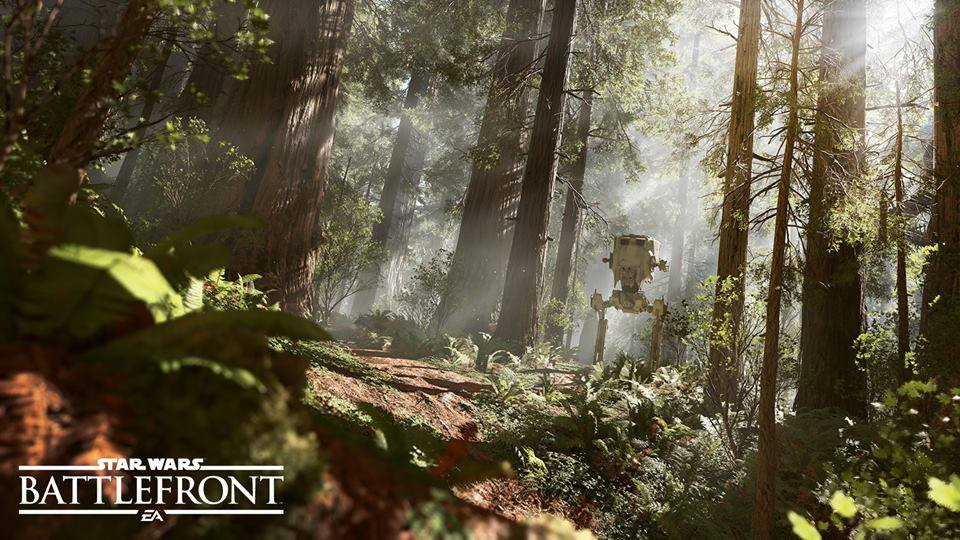 StarWars Battlefront AT-ST