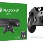(Xbox One (Terabyte – מיקרוסופט הכריזה על קונסולה עם 1TB זיכרון וחשפה את השלט החדש