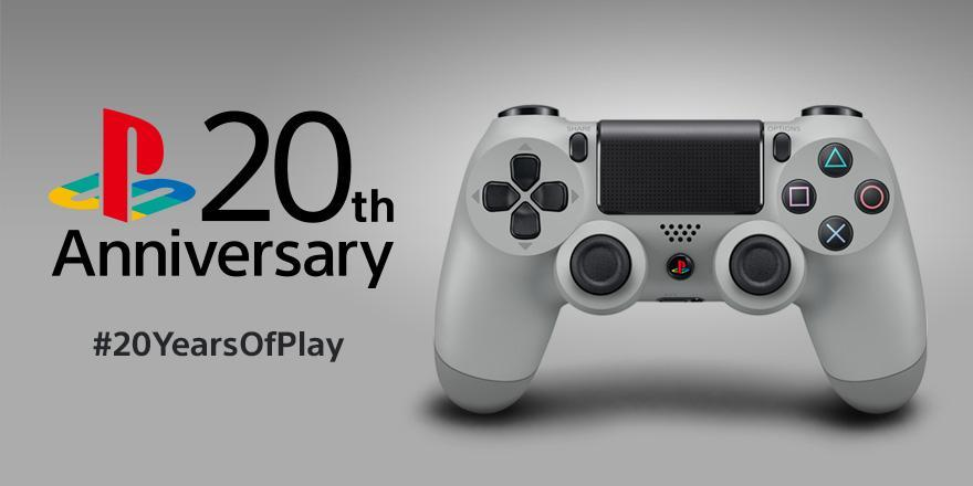 20th Anniversary DualShock 4 PS4