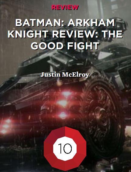 Batman Arkham Knight סיקור